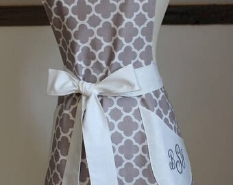 Apron - Retro Apron - Kitchen Apron - Bakery Apron - Aprons - Personalized Full Apron - Baking Apron - Hostess Apron - Bridal Apron