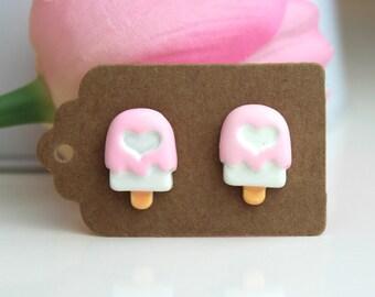 Ice Lolly earrings // kawaii earrings // cute unique earrings //