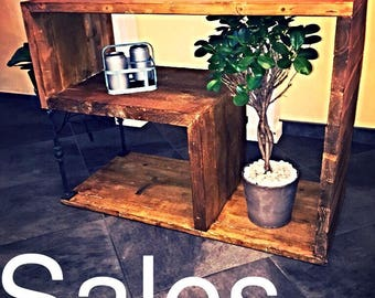 Sale!!! TV Console, furniture industrial Vintage style