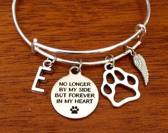 pet memorial jewelry, pet loss gift, pet memorial gift, dog memorial jewellery, pet sympathy gift, memorial bracelet, pet death