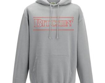 Stranger Things Hoodie Bitchin Hoodie Sweater Sweatshirt Pullover Stranger Things Gift Kids Hoodie Eleven Friends Don't Lie Hawkins