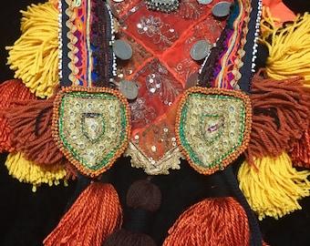 Ishtar Tribal Tassel Belt