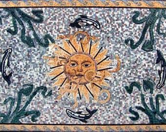 Arte mosaico estilo romano