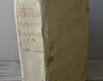 Antique Vellum Book