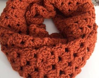 Infinity scarf rusty