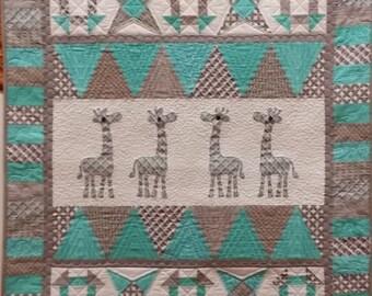 Giraffe Parade Quilt Pattern