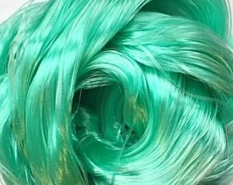 Spearmint Nylon Doll Hair