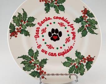 Santa, We Can Explain Plate
