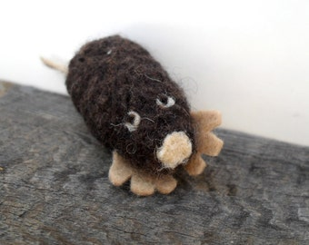 Catnip Cat toy mole, needle felted