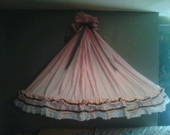Custom baby bed canopy