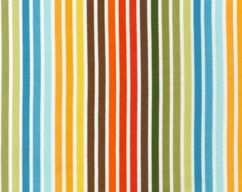 Robert Kaufman Remix by Ann Kelle Stripes in Bermuda by the Yard