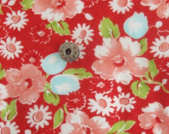 REMNANT Ruby Swoon FLANNEL by Bonnie and Camille for Moda