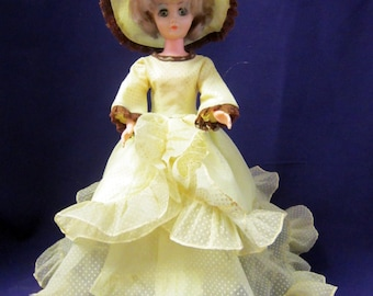 Southern Belle Doll Table Lamp, Plastic Doll Lamp With Movable Arms, Dolly  Table Lamp