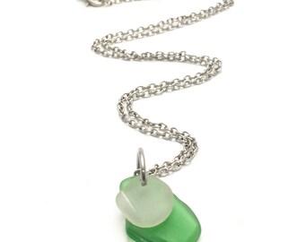 Sea Glass Jewelry, Sea glass pendant, Wire wrapped necklace, Sea glass necklace, Beach glass necklace, beach glass necklace, beach jewelry