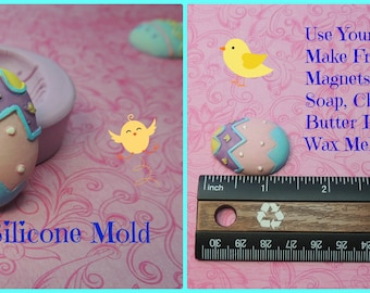Easter Egg Mold, Silicone Mold, Egg Mold, Soap Egg Mold, Chocolate Mold, Wax, Polymer Clay Molds, Egg Molds, Easter Egg Molds, Fondant Mold
