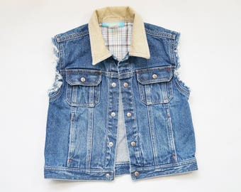 Boys DENIM Jean Vest Size 3T