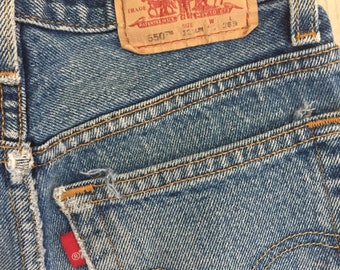 Levi's 550 relax jeans