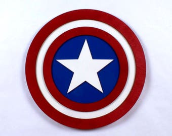 Captain America Shield Cosplay Replica