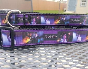 Prince Purple Rain dog collar