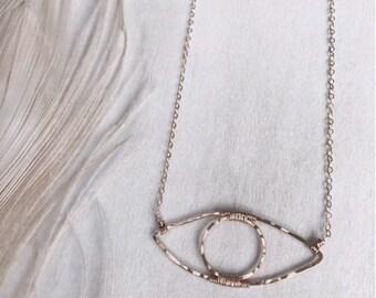 Evil Eye Necklace - Handmade Jewelry - Handmade Necklace