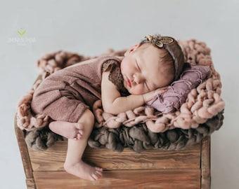 Posing Pillow, Decorative Baby Pillow, Newborn Photo Prop, Burgundy, Newborn Props, Baby Props, Baby Photo Prop, Photography Prop