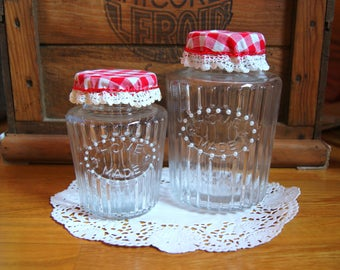 Decoration ingredients storage jars