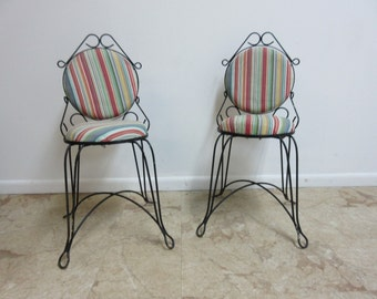 wire chairs etsy