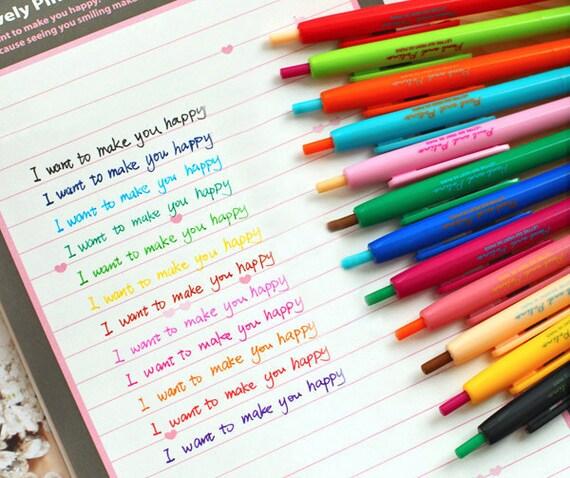 LolliZ 10 pcs/lot 10 Colors Metallic Marker Pens DIY Scrapbooking Crafts  Art Marker Pen