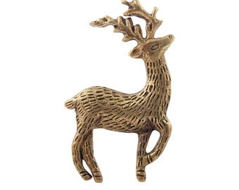 Deer Drawer Knobs - Deer Cabinet knobs (RTG46)