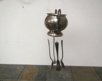 Wind Chimes ,Sugar Bowl & Spoons , Fork and knife Wind Chimes