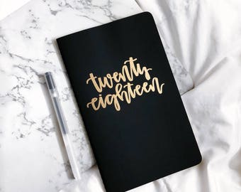 Custom Notebook (Journal, Hand Lettered, Custom Journal, Personalized Notebook, Personalized Journal)