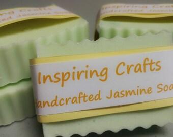 Handcrafted Jasmine Soap