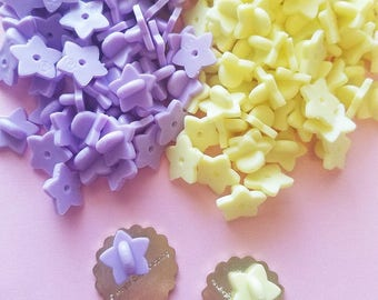 Chubby star rubber backs for enamel pins, purple, yellow, lapel pins, rubber clasps, pink backings, rubber clasp, pin backs