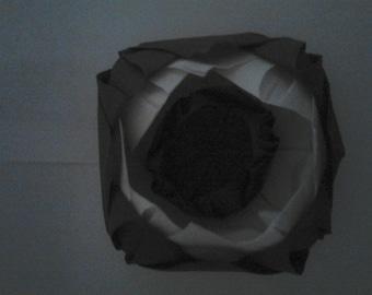 folding towel set of 10 lotus flower