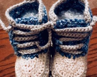 Crochet Sneakers for Kids!
