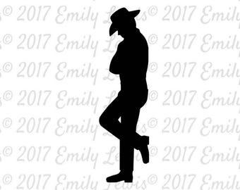cowboy svgs - cowboy cut files - cowboy stencils - cowboy clipart - cowboy svg files - cowboy silhouette - cameo - cricut - cowboy svg cuts