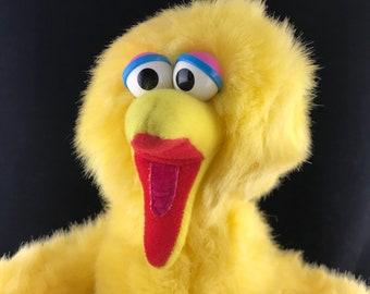 "1986 Playskool Big Bird Plush. 14"" tall."