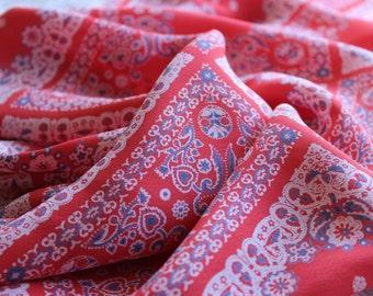 Handkerchief Rayon Staple Fabric by the Yard, Wide Goods Rayon Yardage, Fabric by the Yard, Yardage