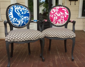 Customizeable French Chairs