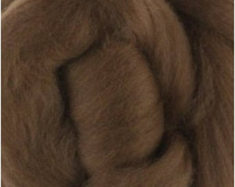 Extra fine merino wool roving, 19 mc.   for spinning,  felting, nunoart, fiber art.