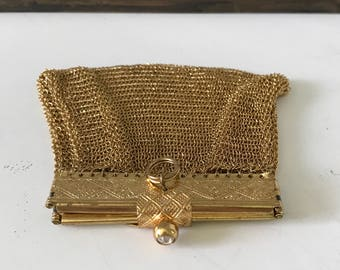 Vintage German chainmaille coin purse