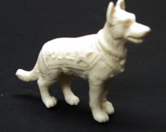1:25 G scale model resin Police dog department K9 canine officer