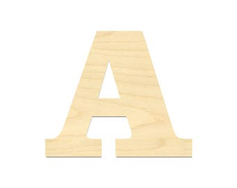 Laser Cut Out Letter- Wooden Letter- Alphabet Letters