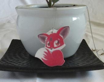 Shy Chibi Fox