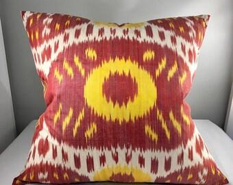 Large Ikat Pillow