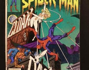 Vintage Marvel Comic Book Group Spectacular Spider-Man #64 ~1st Cloak & Dagger