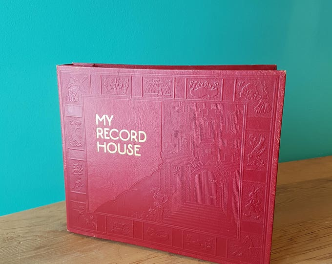 My Record House - 45RPM Record Album