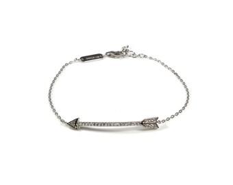 Sterling silver Cupids Arrow bracelet