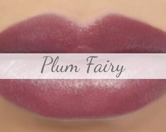 "Lipstick Sample - ""Plum Fairy"" (natural light plum color, vegan) lip tint, balm, lip colour"