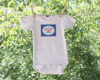 Made In Wyoming Infant Bodysuit - GC